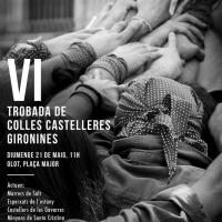 Cartell VI Trobada Castellera de Colles Gironines