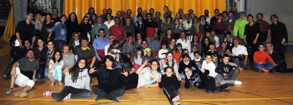 Foto de grup participant Jornada Porta un amic als Minyons.