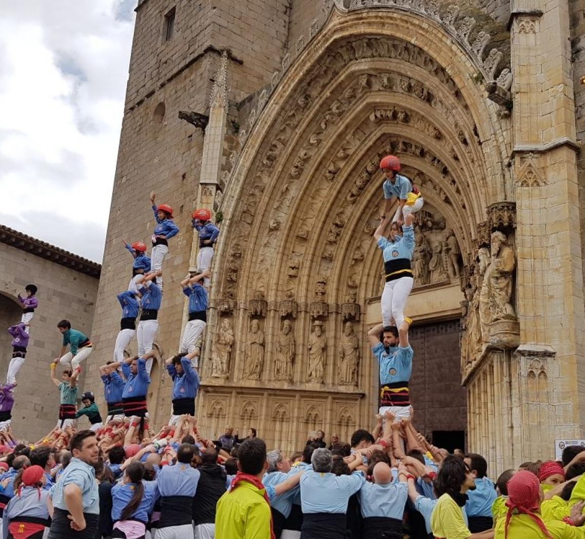 VII Trobada de colles castelleres gironines – 13 de maig 2018