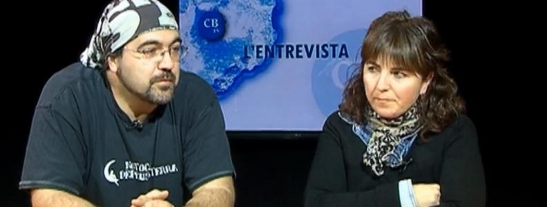 Entrevista a TV Costa Brava: Els Minyons de Santa Cristina celebren un any del seu bateig amb una festa castellera, .